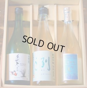 画像1: 【夏ギフト】夏酒3本詰め合わせB (送料・クール代込)